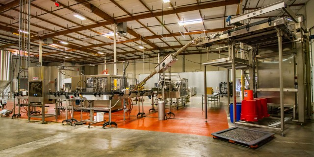 The canning line at Four Peaks Wilson location