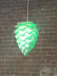 Not directly related to the brewing process, just a cool light we have at the Tempe location...
